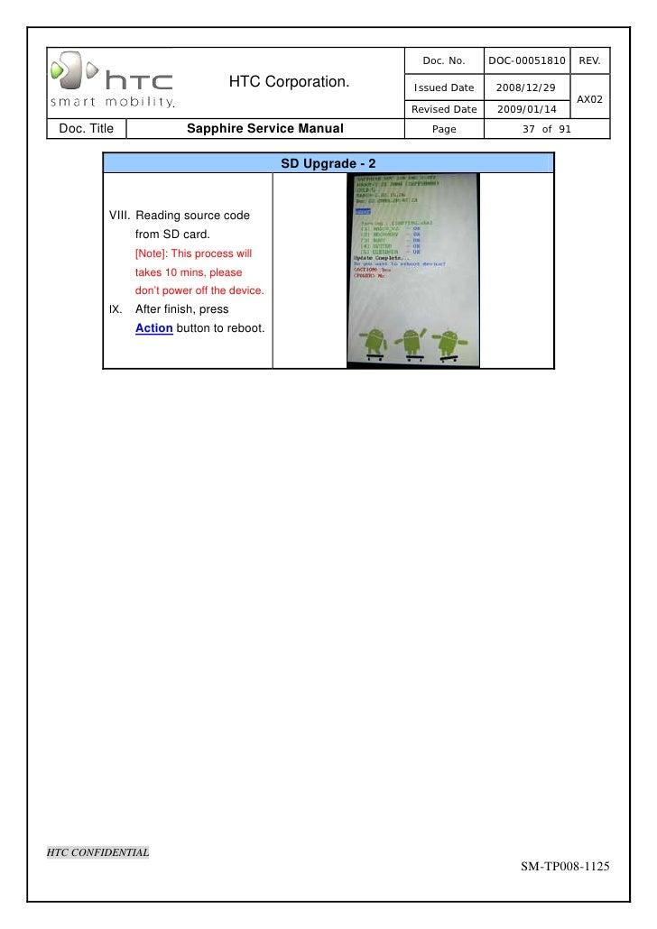 Htc Sapphire Service Manual