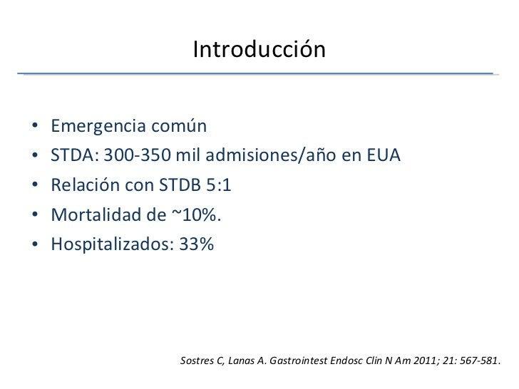 Introducción <ul><li>Emergencia común </li></ul><ul><li>STDA: 300-350 mil admisiones/año en EUA  </li></ul><ul><li>Relació...