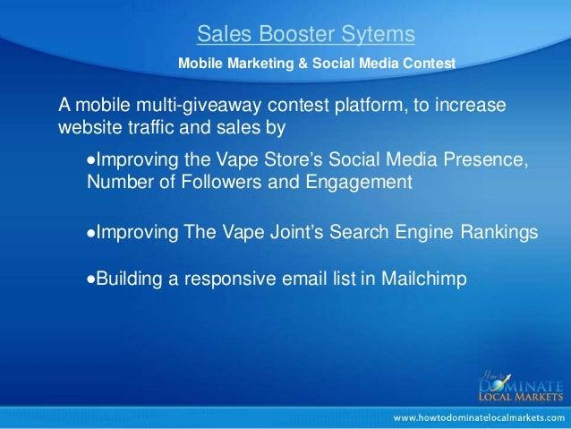 Vape Store Marketing,e-cig marketing