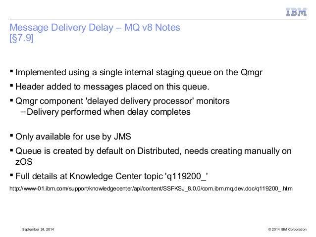 IBM MQ v8 and JMS 2 0