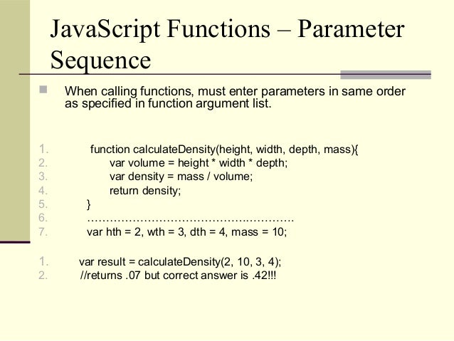 how to call a function in javascript from html