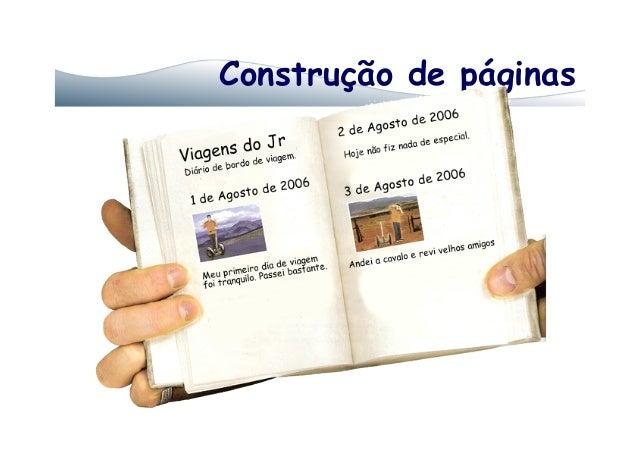Construção de páginas