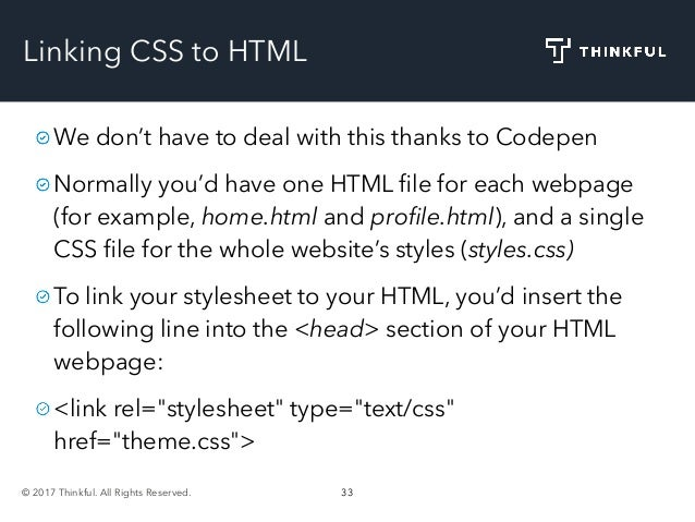 Frontend Crash Course: HTML and CSS
