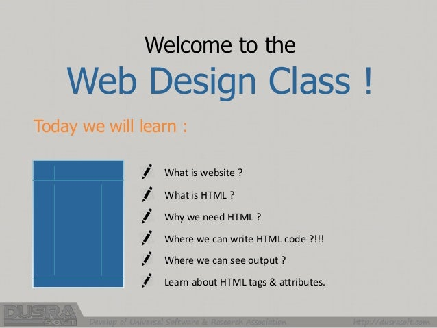 Ideas Of Basic Html Design