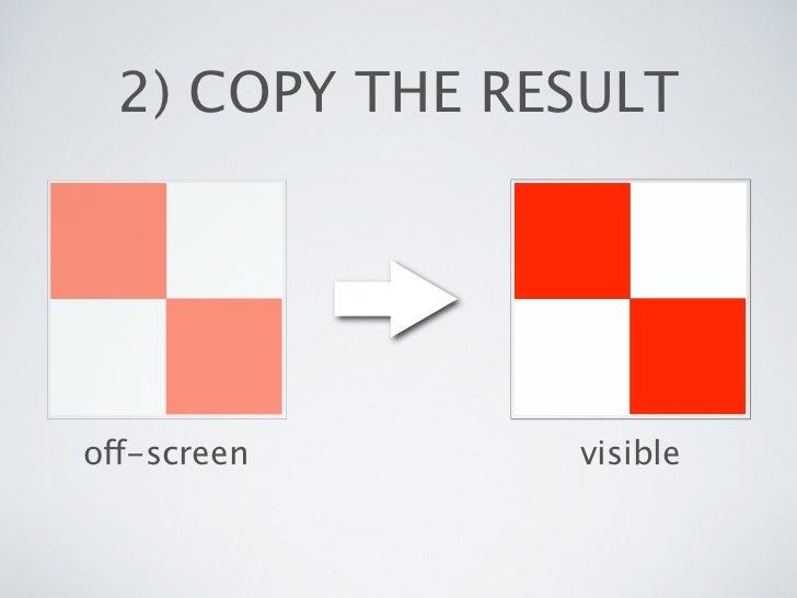 2) COPY THE RESULToff-screen      visible