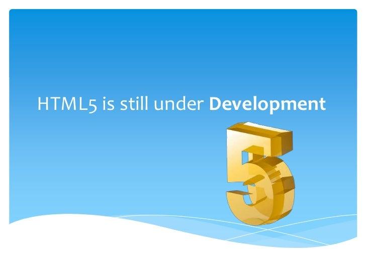 Html5 Slide 3