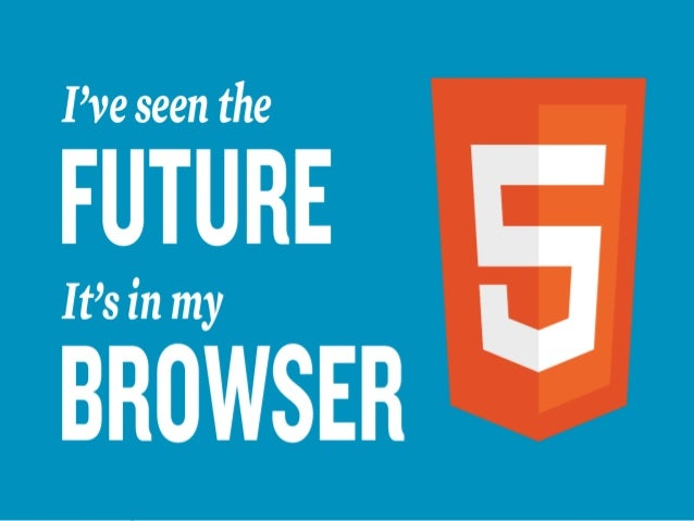 HTML5Everything that makes the        web sing.     Shaify Mehtahttp://www.shaify.com