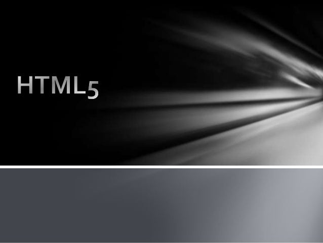 What is HTML51) HTML5 will be the new standard forHTML.2) HTML5 is a cooperation between theWorld Wide Web Consortium (W3C...