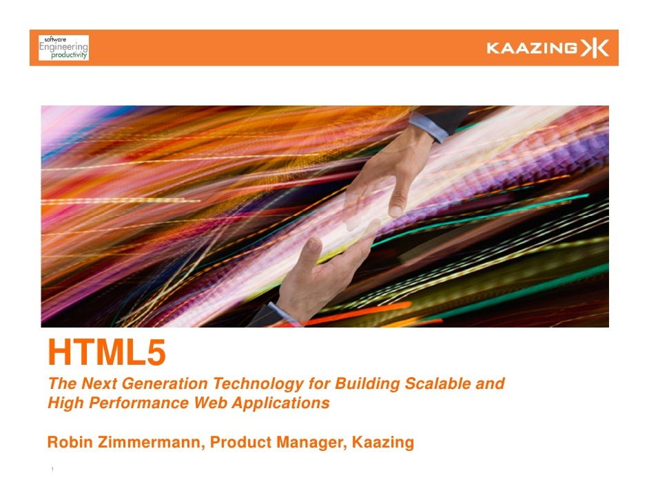 HTML5 Overview (Silicon Valley User Group)
