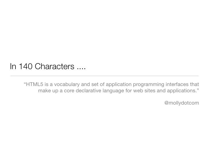 An Introduction to HTML5 Slide 2