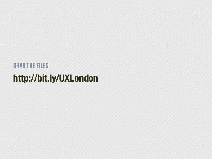 Html5 ux london Slide 2