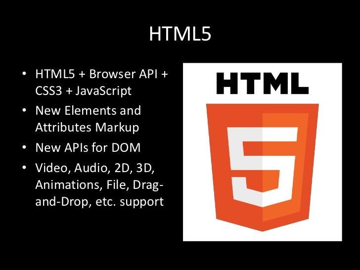 HTML5 for ASP.NET Developers Slide 2