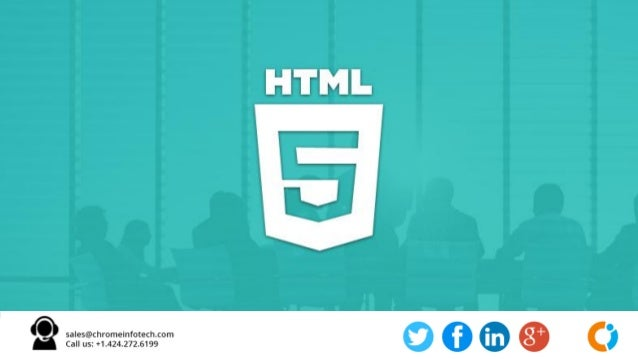 HTML 5 App Development services