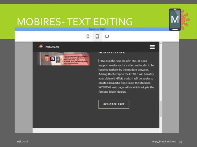 Html5 + Bootstrap & Mobirise