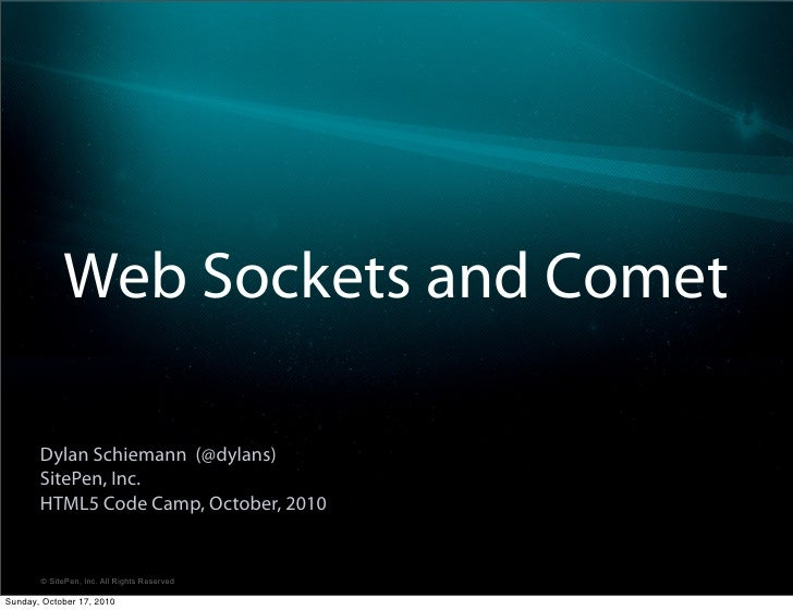 Intro to WebSockets and Comet