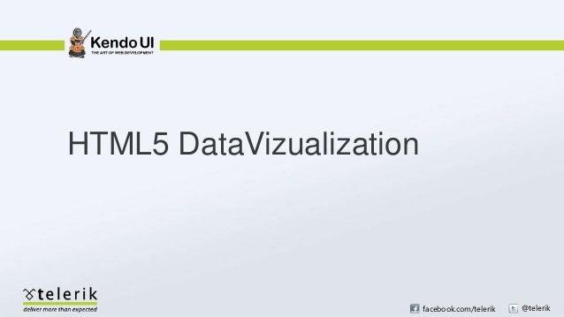 HTML5 DataVizualization                          facebook.com/telerik   @telerik