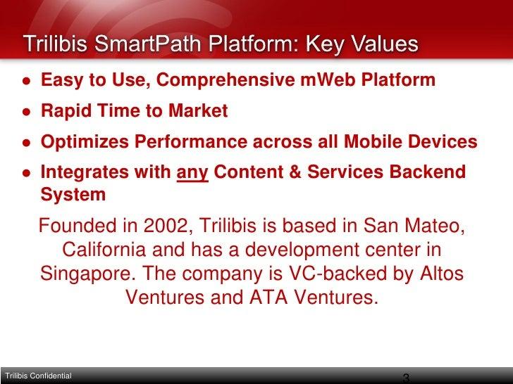 Html 5 Enterprise Mobile Web Hybrid App Development & Deployment Platform Trilibis Mobile Slide 3