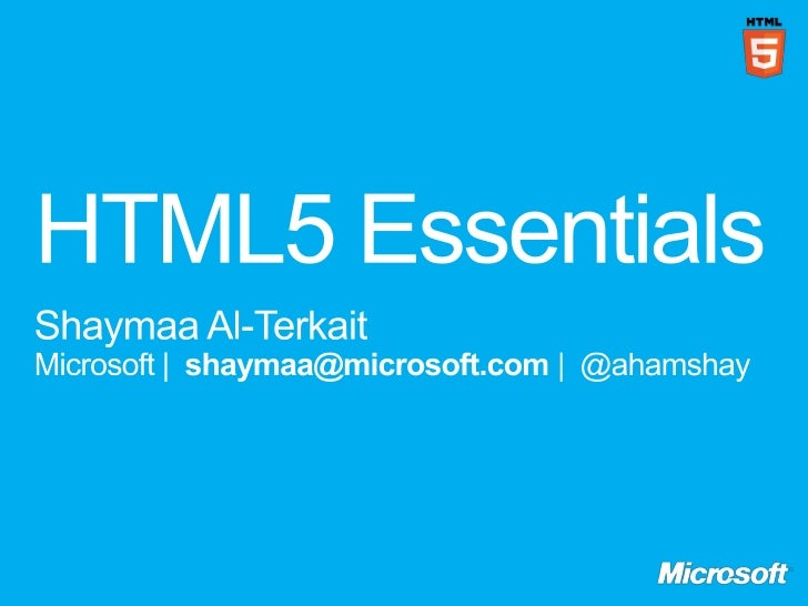 html5 the future of the web essay Html5 is 'feature complete,' meaning the future of web development is in place.