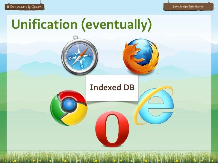 HTML5 JavaScript Interfaces