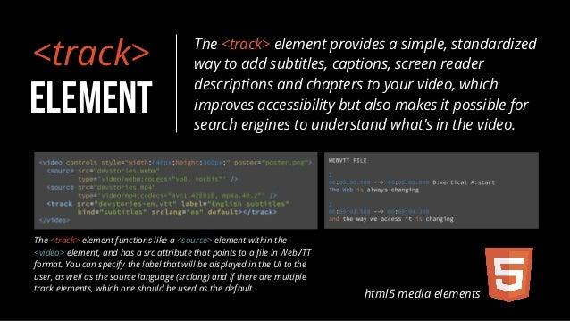 Html5 media elements 9 ccuart Images