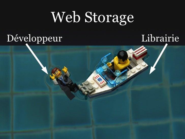 Web Storage Développeur           Librairie