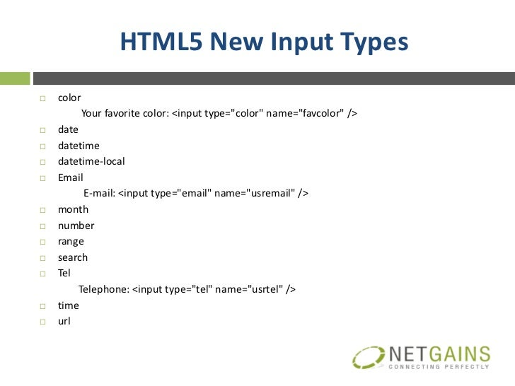 Introduction to Html5 Slide 3