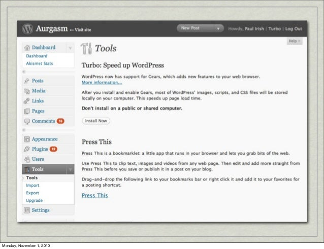 An Overview of HTML5 Storage slideshare - 웹