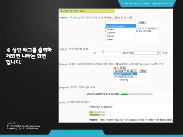 02. Html5에 새로운 기능 Form 속성 브라우져 지원 현황 자료출처 : http://fmbip.com/litmus