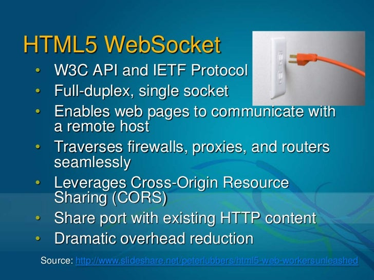 Taking a Quantum Leap with Html 5 WebSocket