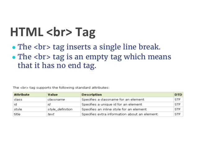 Html paragraph style attributes phpsourcecode net for Html table tags and attributes