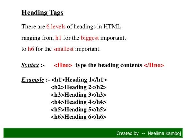COMPLETE HTML PDF