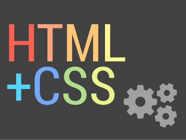 HTML+CSS