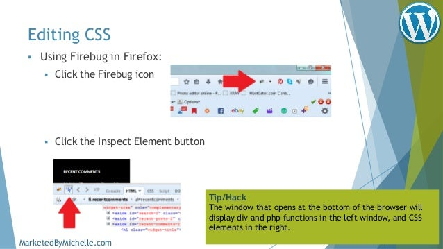 WordPress HTML, CSS & Child Themes