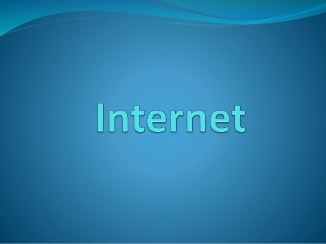 Internet is the world largest computer network, which is link many different types of computer all over the world. it is n...