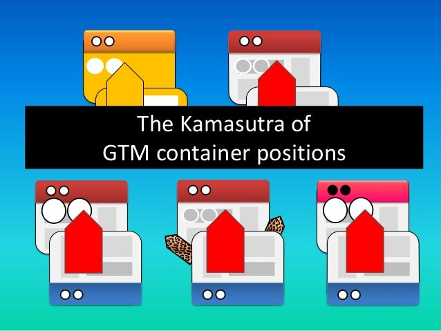 The Kamasutra of GTM container positions