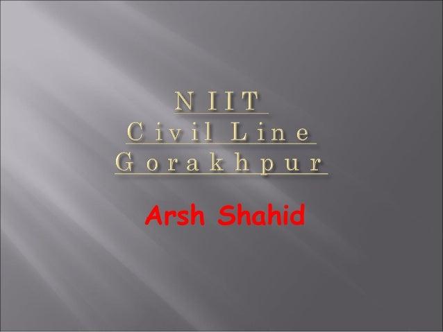 Arsh Shahid