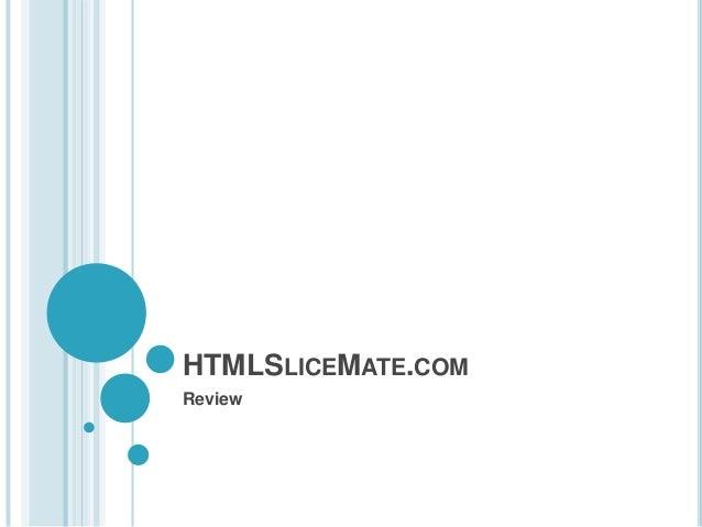 HTMLSLICEMATE.COM Review