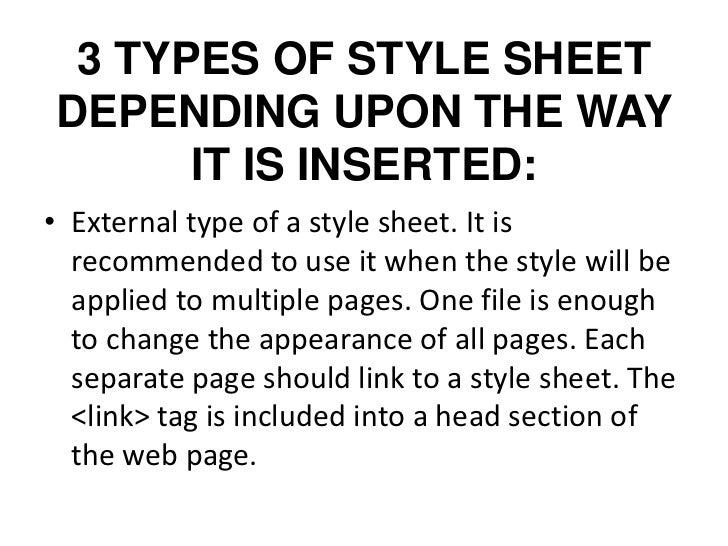 HTML STYLES Slide 3