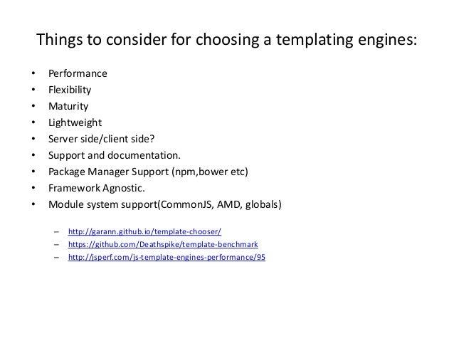 Html Templating - DOT JS