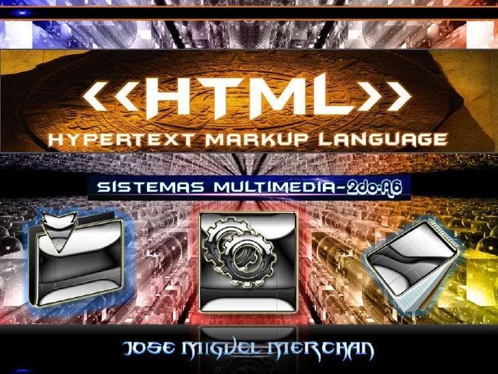 Html y xml by jm