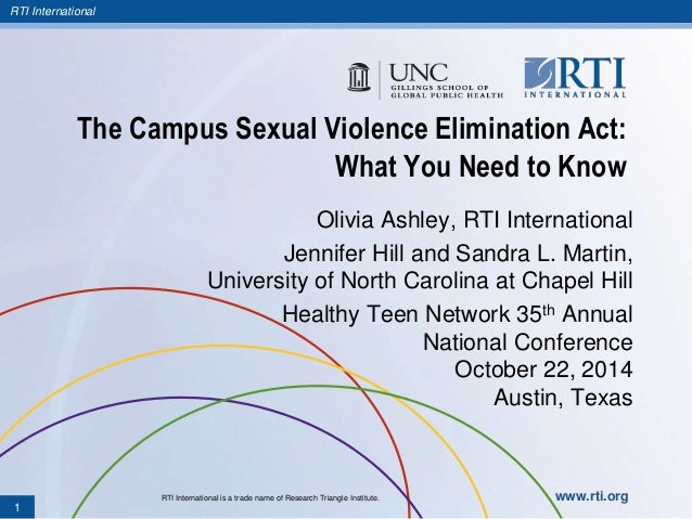 Campus sexual violence elimination act images 6