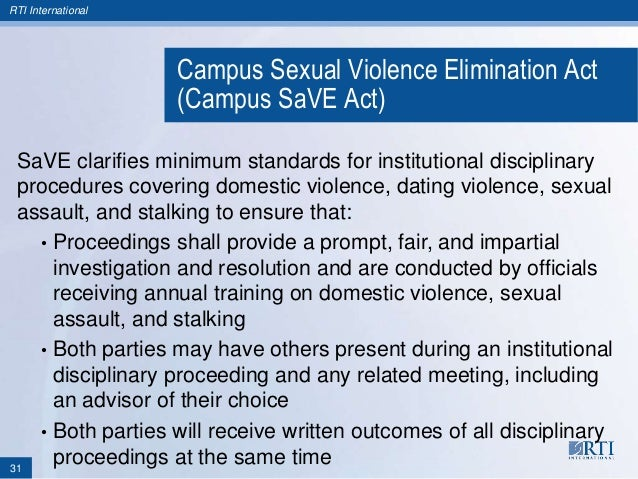 Campus sexual violence elimination act images 47