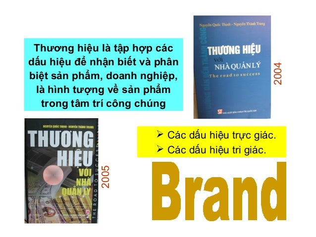 Thương hiệu là gì ? Những định nghĩa về thương hiệu • Một lời hứa • A Rumor • Một mối quan hệ • A Unique Position • Một hì...