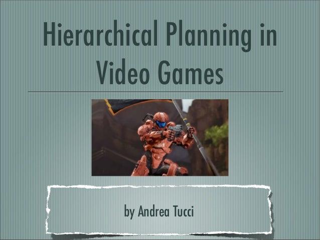Htn in videogames Slide 1