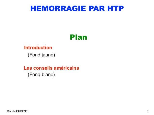 HEMORRAGIES PAR HYPERTENSION PORTALE AU COURS DE LA CIRRHOSE Slide 2