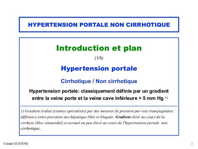 HYPERTENSION PORTALE NON CIRRHOTIQUE Slide 2