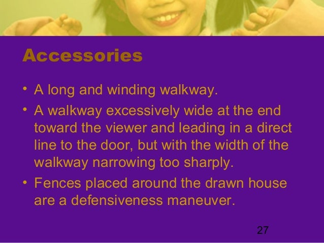 27Accessories• A long and winding walkway.• A walkway excessively wide at the endtoward the viewer and leading in a direct...