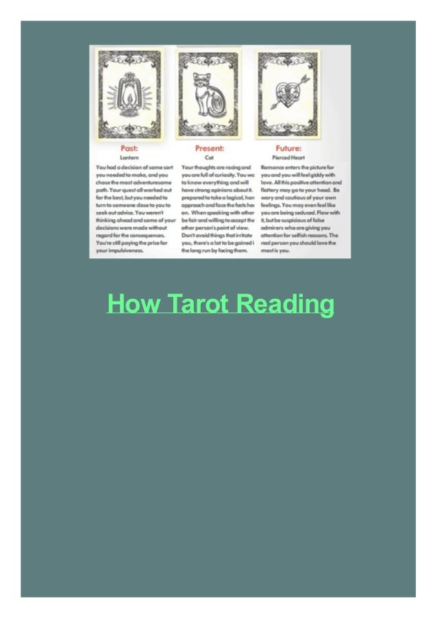 How Tarot Reading