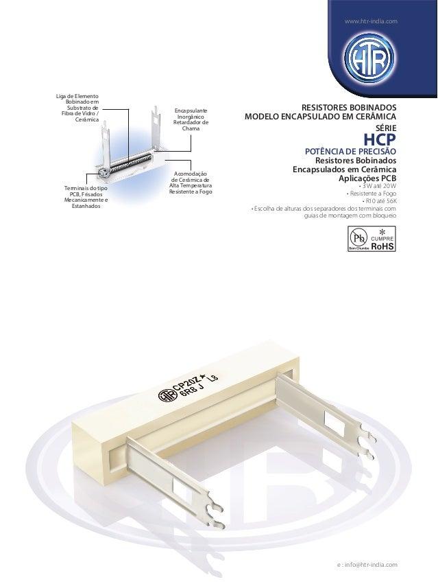 Liga de Elemento Bobinado em Substrato de Fibra de Vidro / Cerâmica Encapsulante Inorgânico Retardador de Chama Acomodação...
