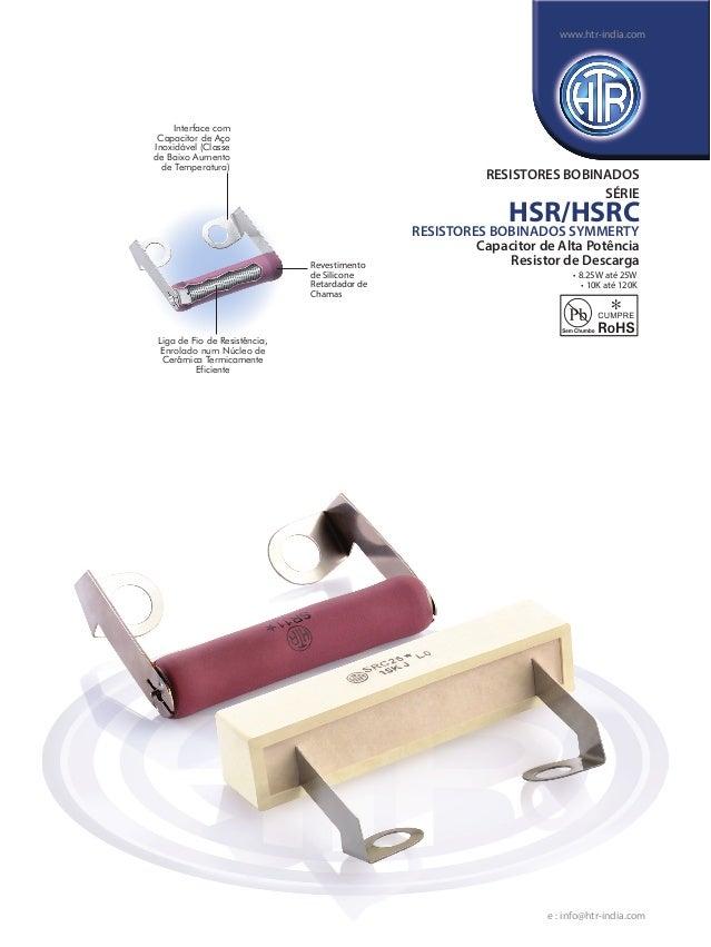 Interface com Capacitor de Aço Inoxidável (Classe de Baixo Aumento de Temperatura) Liga de Fio de Resistência, Enrolado nu...